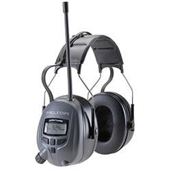Schwarzer Gehörschutz mit Radio - Peltor 3M